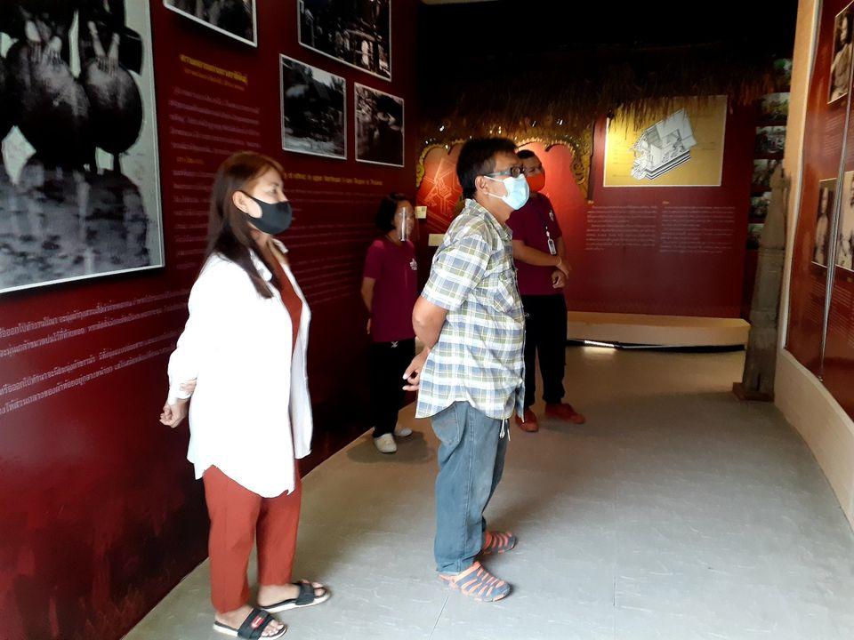 นักท่องเที่ยวเข้าเยี่ยมชมพิพิธภัณฑสถานแห่งชาติ ขอนแก่น ระหว่างวันพฤหัสบดี ที่ ๑๓ ถึง วันอาทิตย์ที่ ๑๖ สิงหาคม ๒๕๖๓