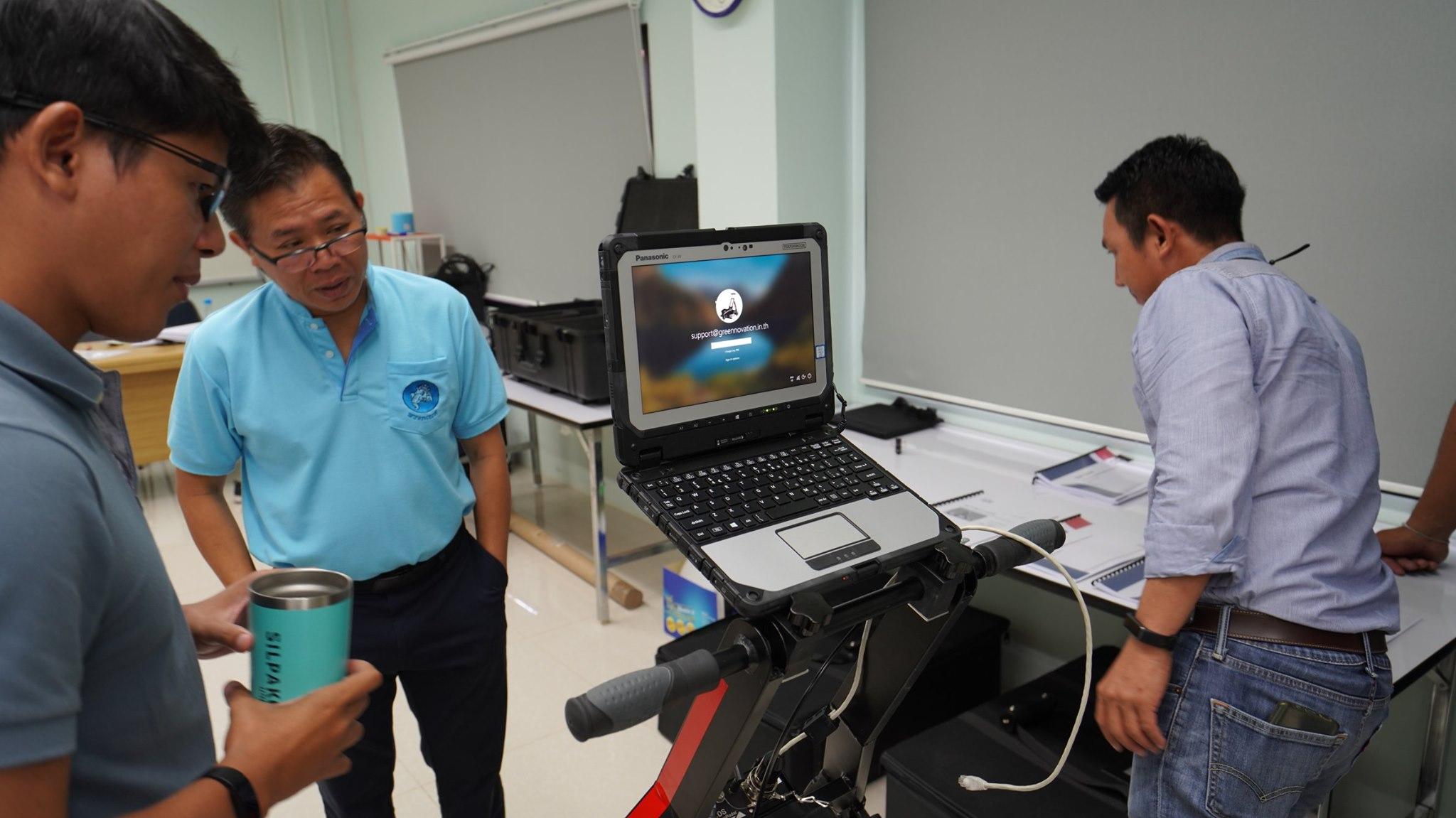 กองโบราณคดีใต้น้ำ ตรวจรับครุภัณฑ์ประจำปีงบประมาณ 2563 เครื่องมือสำรวจธรณีฟิสิกส์ Ground Penetration Radar (GPR)