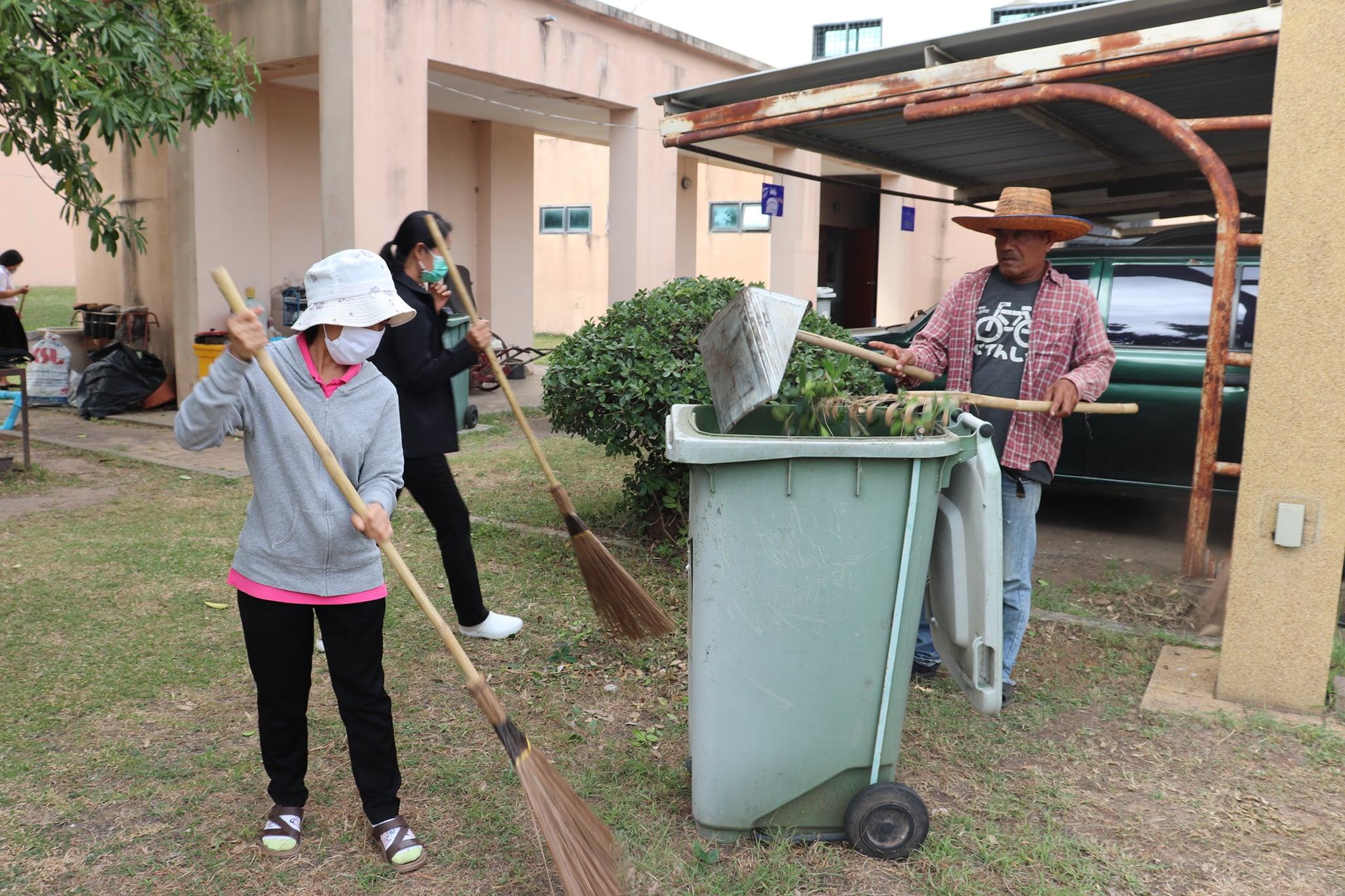 กิจกรรม   Big Cleaning Day   ประจำวันอาทิตย์ที่ ๒๙ พฤศจิกายน ๒๕๖๓