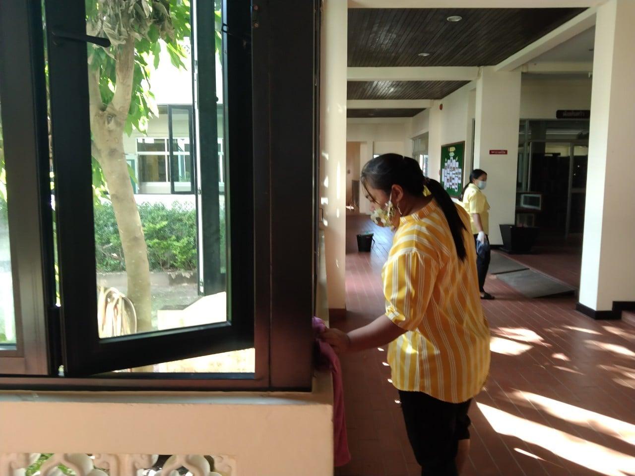 กิจกรรมจิตอาสาพัฒนาหอสมุดแห่งชาติฯ จันทบุรี 3 ธันวาคม 2563 - หอสมุดแห่งชาติรัชมังคลาภิเษก จันทบุรี