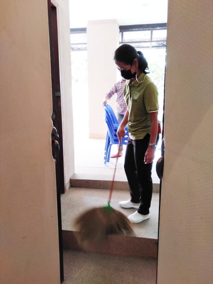 กิจกรรม   Big Cleaning Day   ประจำวันอาทิตย์ที่ ๑๔ มีนาคม ๒๕๖๔