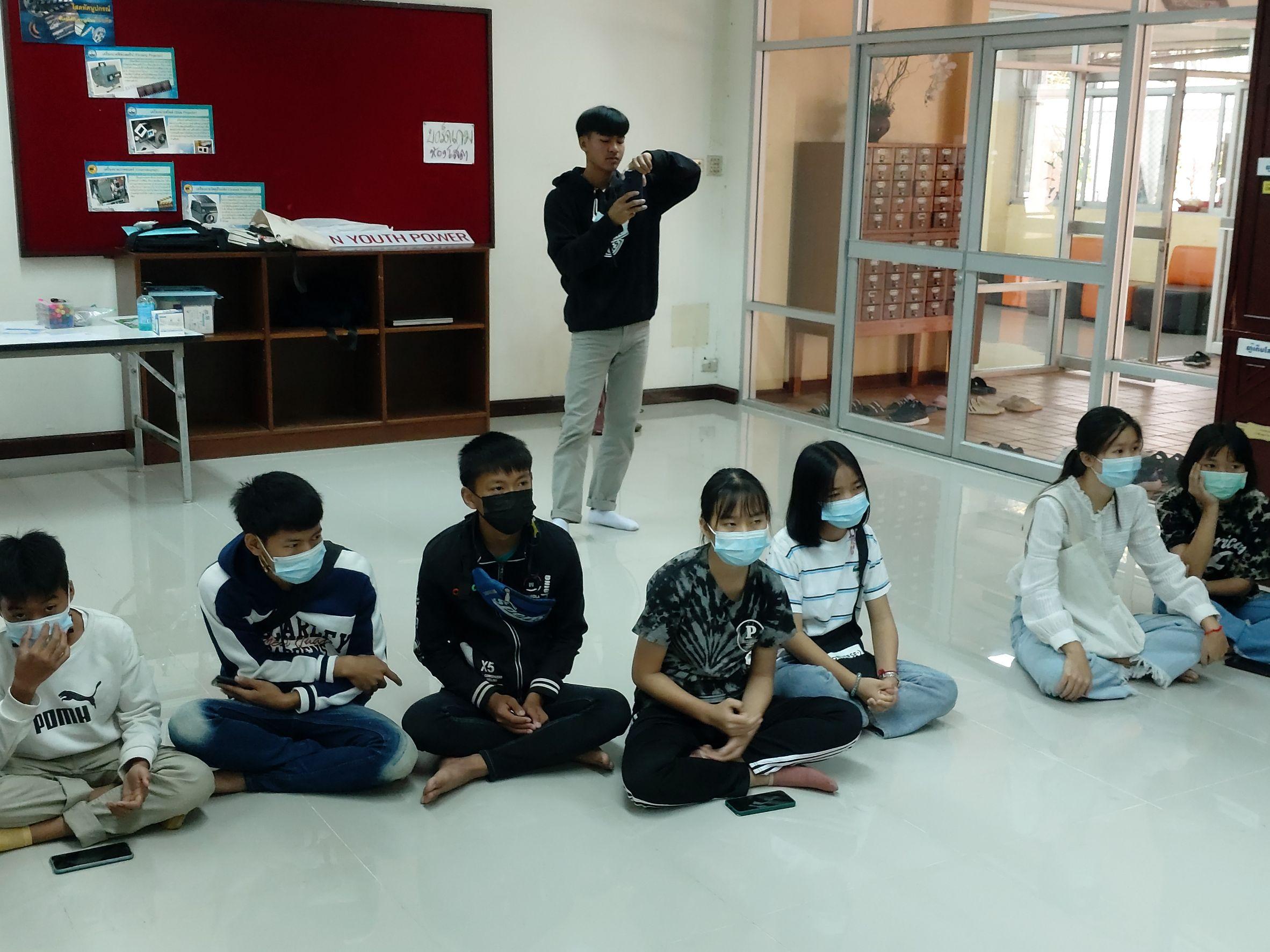 Shan Youth Power ร่วมกับหอสมุดแห่งชาติรัชมังคลาภิเษก เชียงใหม่ จัดกิจกรรมประชุมนักเรียนชั้นประถมศึกษาปีที่ ๖ - มัธยมศึกษาปีที่ ๓