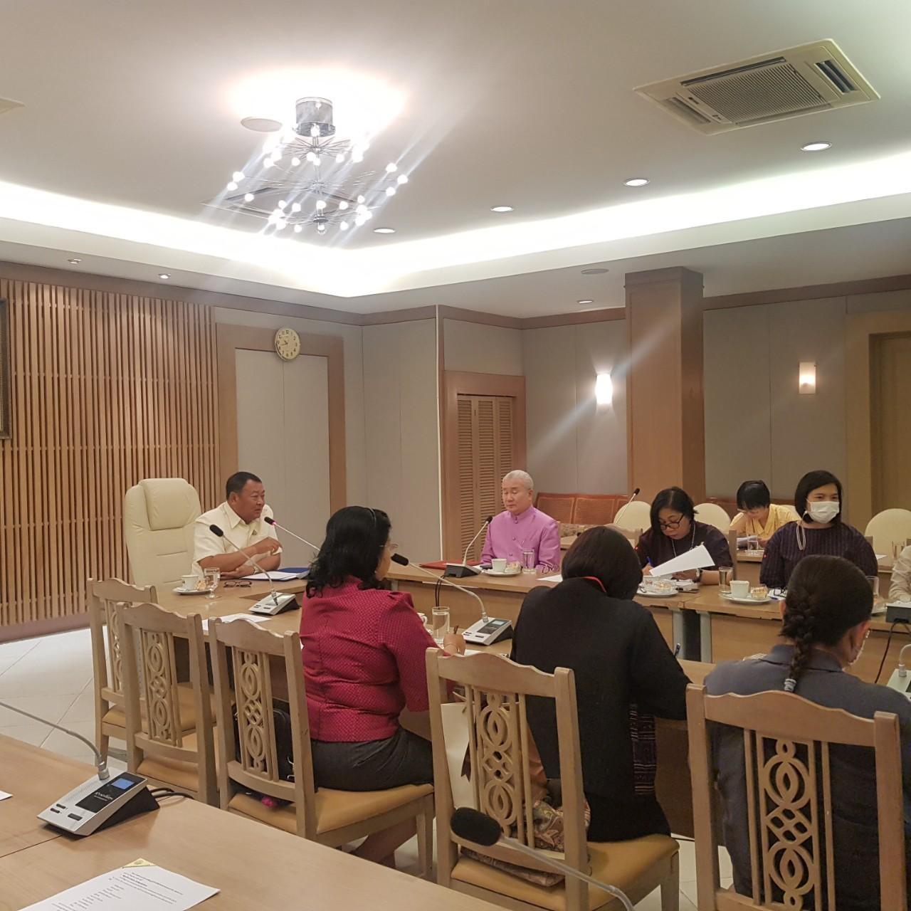 ประชุมผลการดำเนินงานระบบวิเคราะห์ข้อมูลผู้เข้าชมพิพิธภัณฑสถานแห่งชาติพระนคร