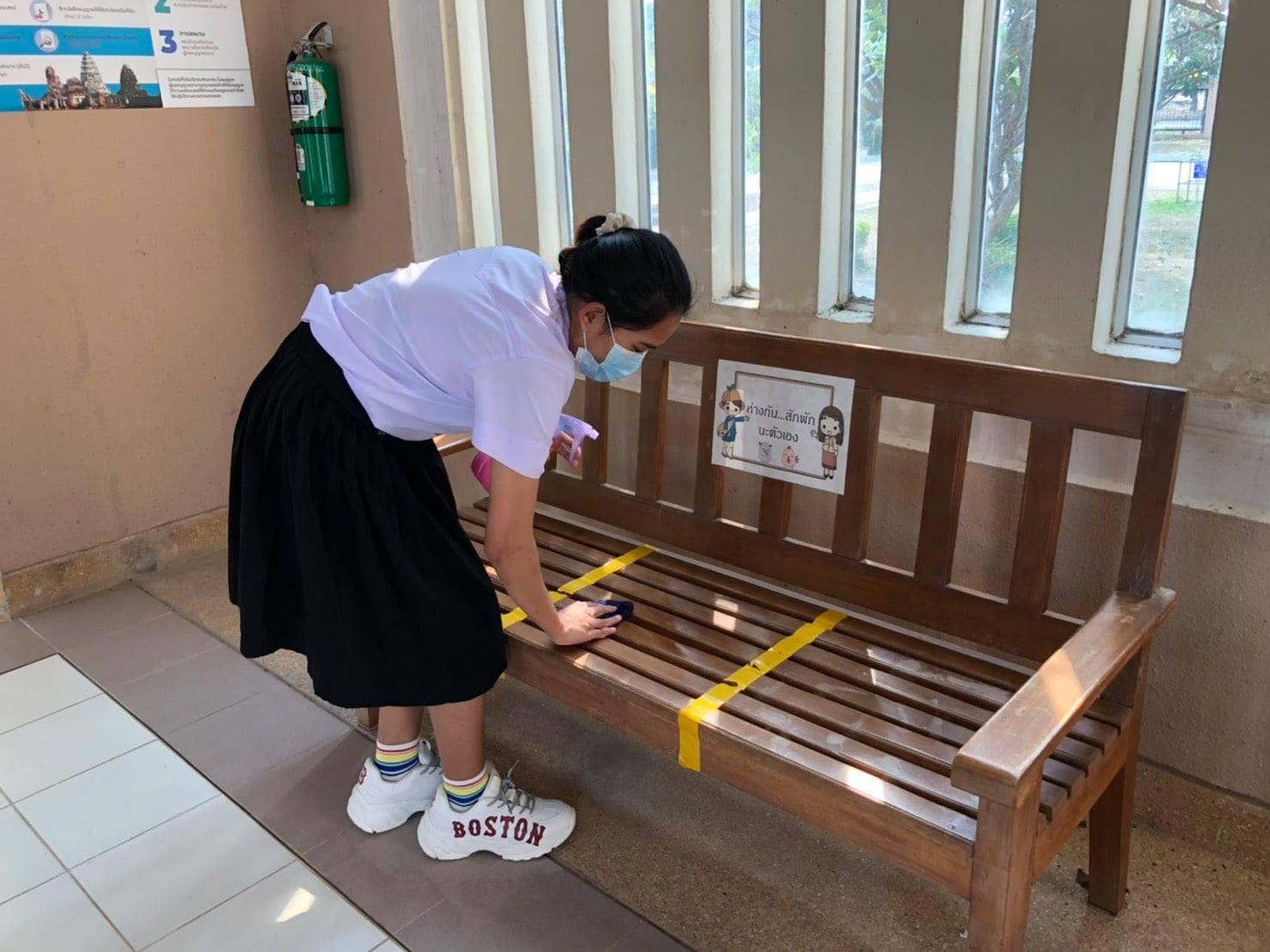 กิจกรรม   Big Cleaning Day   ประจำวันอาทิตย์ที่ ๒๑ มีนาคม ๒๕๖๔