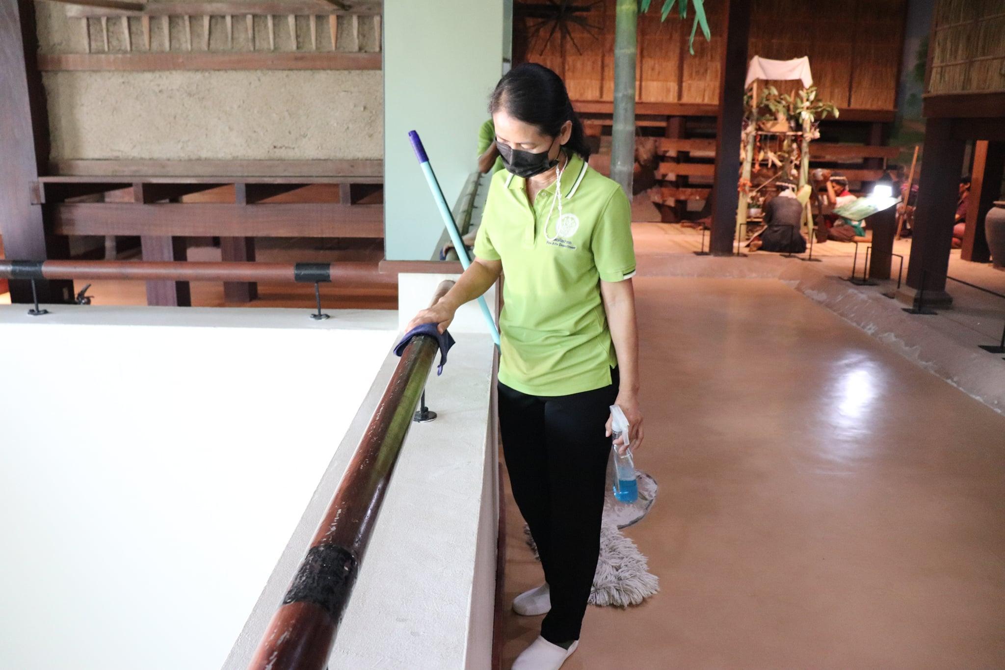 กิจกรรม   Big Cleaning Day   ประจำวันอาทิตย์ที่ ๗ มีนาคม ๒๕๖๔