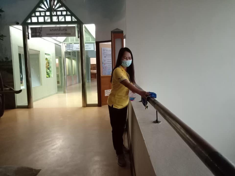 จัดกิจกรรม   Big Cleaning Day   ประจำวันอาทิตย์ที่ ๑๑ เมษายน ๒๕๖๔