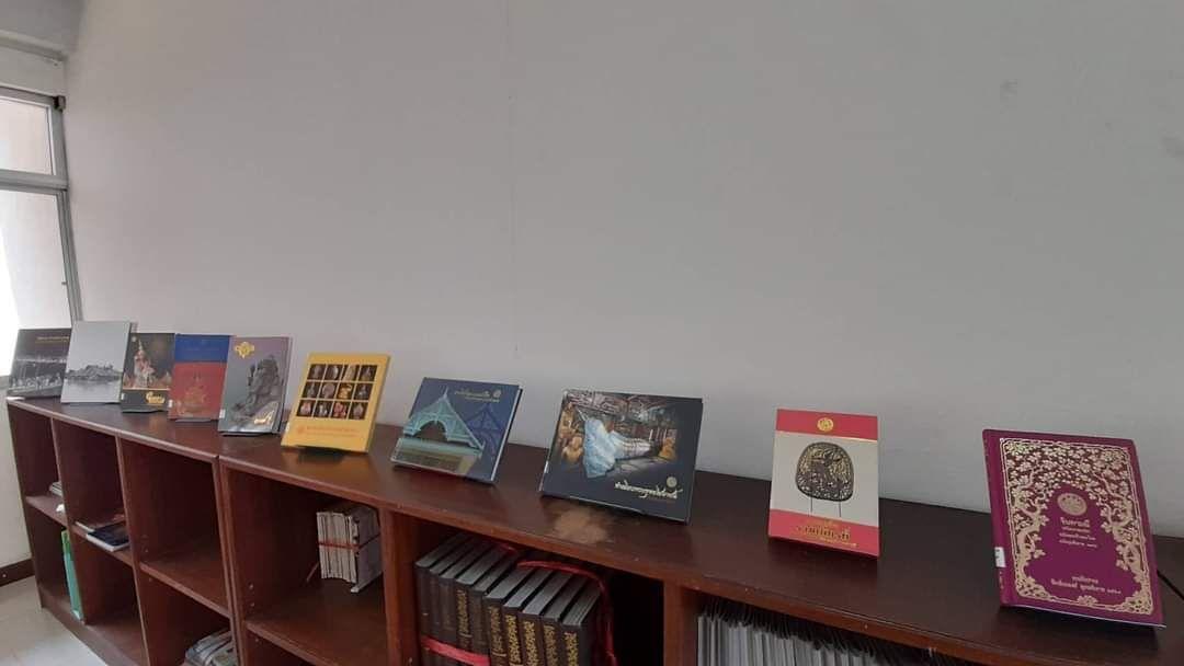 หอสมุดแห่งชาติรัชมังคลาภิเษก เชียงใหม่ จัดแสดงสิ่งพิมพ์ที่จัดพิมพ์โดยกรมศิลปากร เนื่องในโอกาสที่กรมศิลปากรครบรอบ ๑๑๐ ปี แห่งการสถาปนากรมศิลปากร ๒๗ มีนาคม ๒๕๖๔ ณ ห้องวารสารและหนังสือพิมพ์
