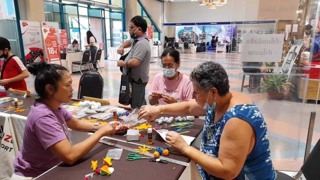 บุคลากรหอสมุดแห่งชาติรัชมังคลาภิเษก เชียงใหม่ จัดกิจกรรม workshop  ในงาน Summer Book Fest 2021