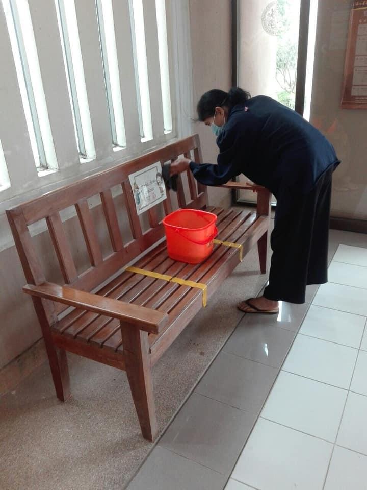 กิจกรรม   Big Cleaning Day   ประจำวันอาทิตย์ที่ ๔ เมษายน ๒๕๖๔