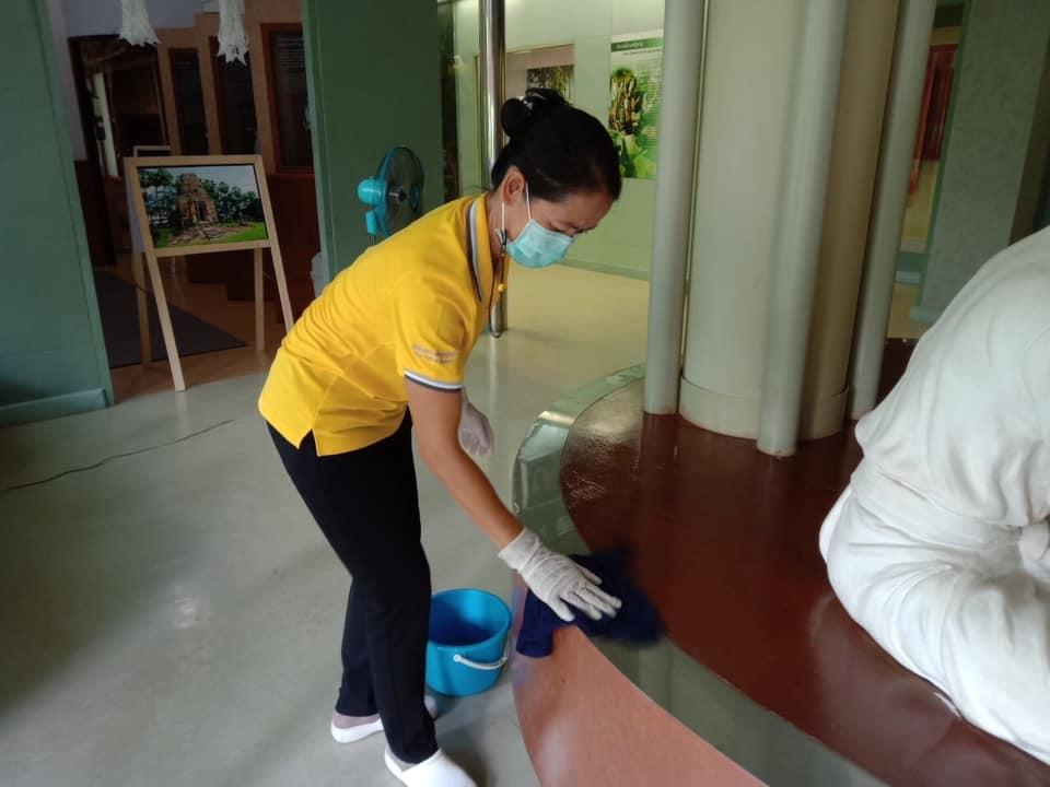 กิจกรรม   Cleaning Day   ประจำวันอาทิตย์ที่ ๖ มิถุนายน พ.ศ. ๒๕๖๔