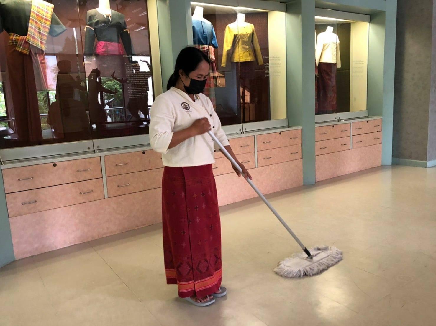 กิจกรรม   Cleaning Day   ประจำวันศุกร์ที่ ๒๓ กรกฎาคม พ.ศ. ๒๕๖๔