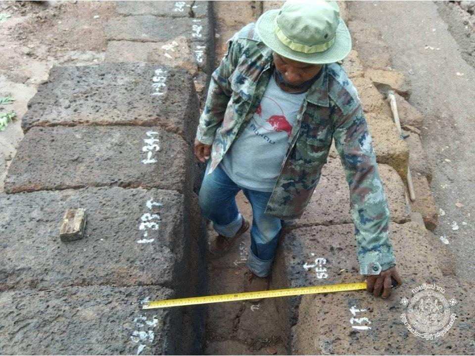 อัพเดท #โครงการบูรณะโบราณสถานสะพานขอม ต.จรเข้มาก อ.ประโคนชัย จ.บุรีรัมย์
