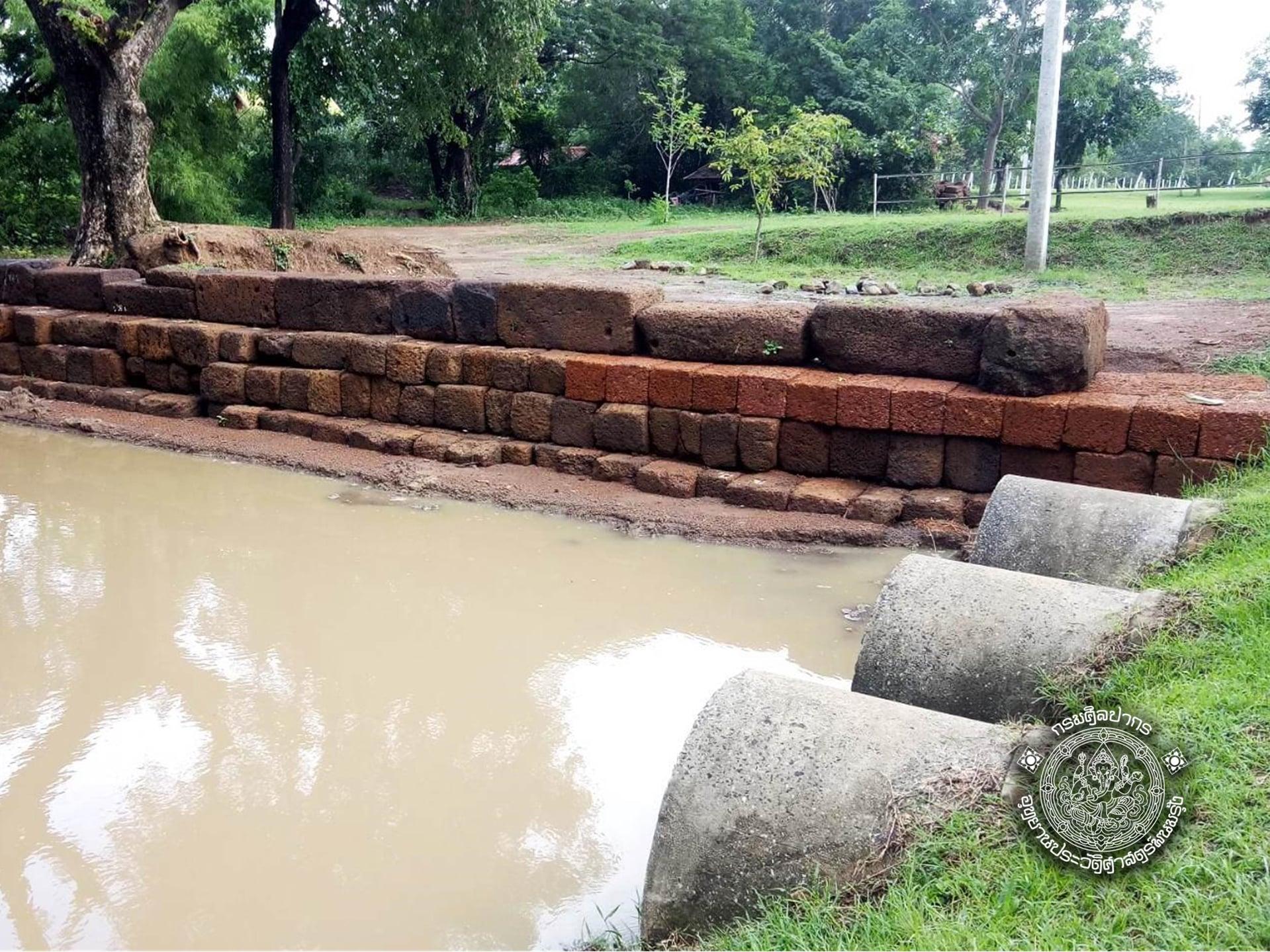อัพเดท #โครงการบูรณะโบราณสถานสะพานขอม ต.จรเข้มาก อ.ประโคนชัย จ.บุรีรัมย์.