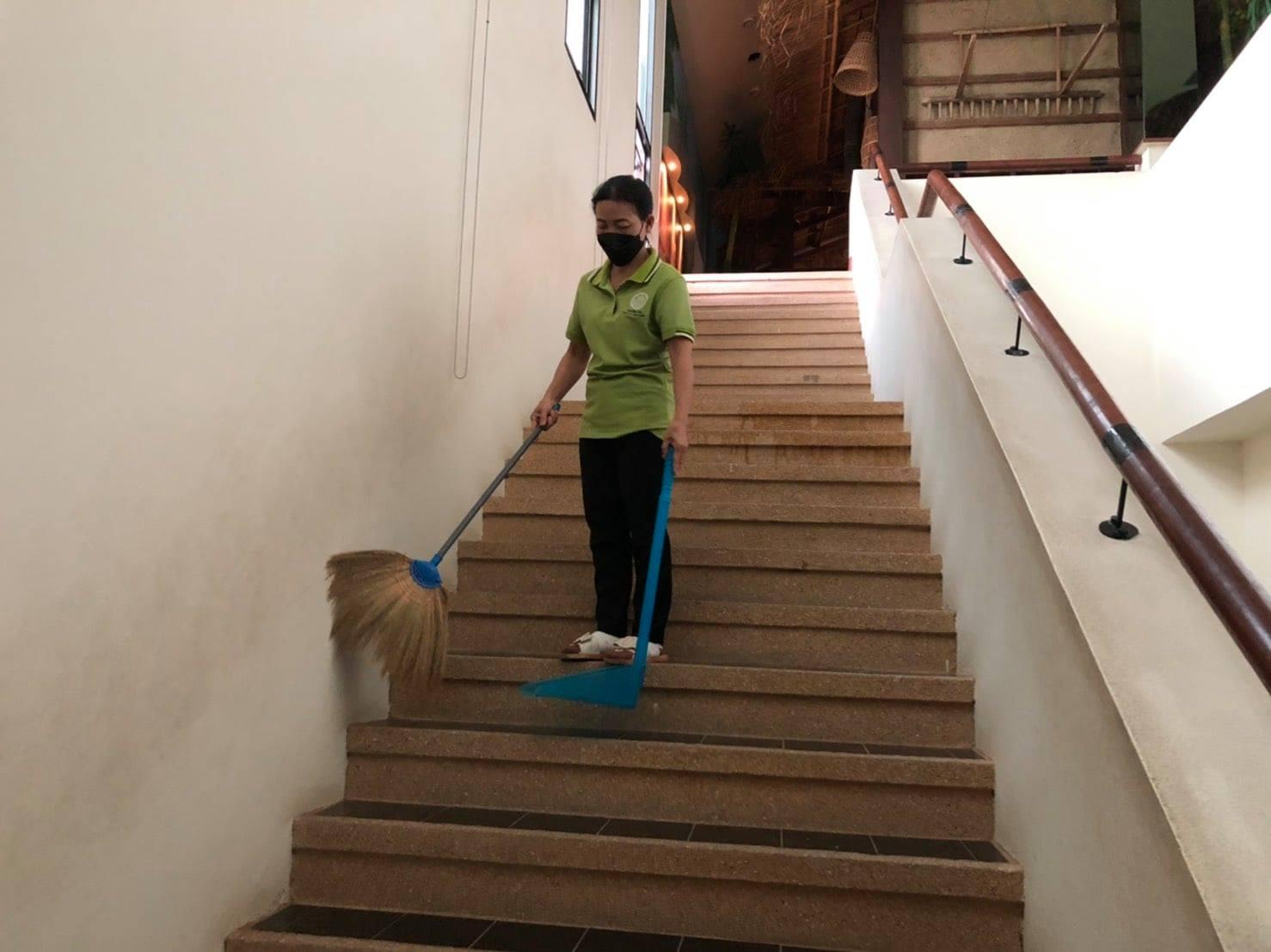 กิจกรรม   Cleaning Day   ประจำวันอาทิตย์ที่ ๑ สิงหาคม พ.ศ. ๒๕๖๔