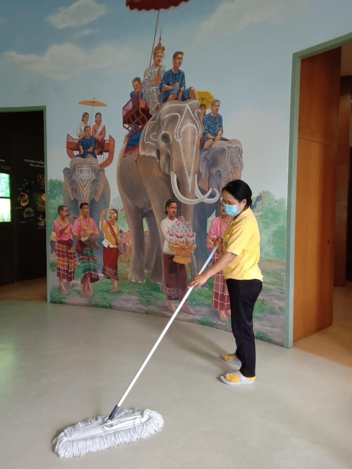 กิจกรรม   Cleaning Day   ประจำวันอาทิตย์ที่ ๒๒ สิงหาคม พ.ศ. ๒๕๖๔