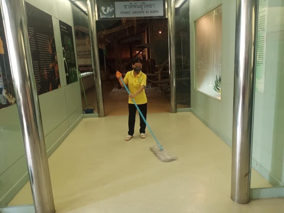 กิจกรรม   Cleaning Day   ประจำวันอาทิตย์ที่ ๑๒ กันยายน พ.ศ. ๒๕๖๔