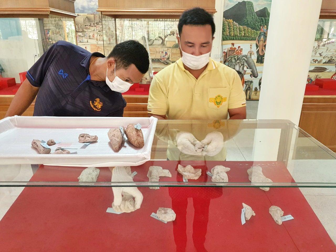 โครงการพิพิธภัณฑ์สัญจร เนื่องในวันพิพิธภัณฑ์ไทย ประจำปีพุทธศักราช ๒๕๖๔ ณ พิพิธภัณฑ์กู่แก้วสี่ทิศ วัดพระธาตุกู่แก้ว อำเภอราษีไศล จังหวัดศรีสะเกษ