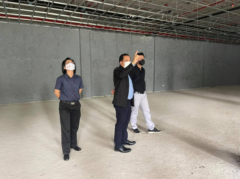 ตรวจรับงานโครงการก่อสร้างอาคารศูนย์วิจัยโบราณคดีบ้านเชียง ณ พิพิธภัณฑสถานแห่งชาติ บ้านเชียง จังหวัดอุดรธานี