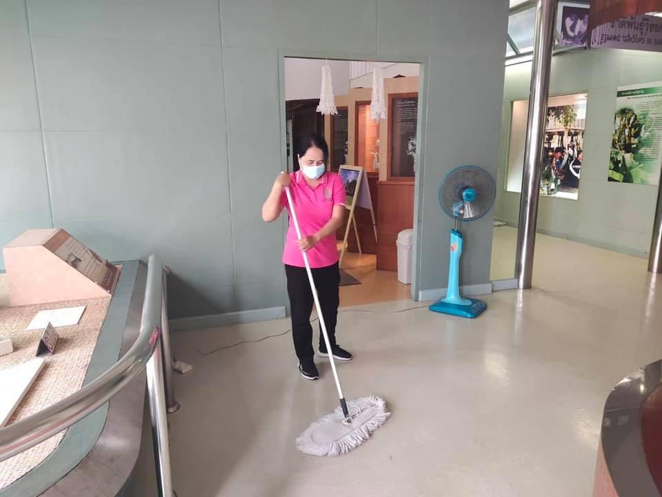 """กิจกรรม """" Cleaning Day """" ประจำวันอาทิตย์ที่ ๕ กันยายน พ.ศ. ๒๕๖๔"""