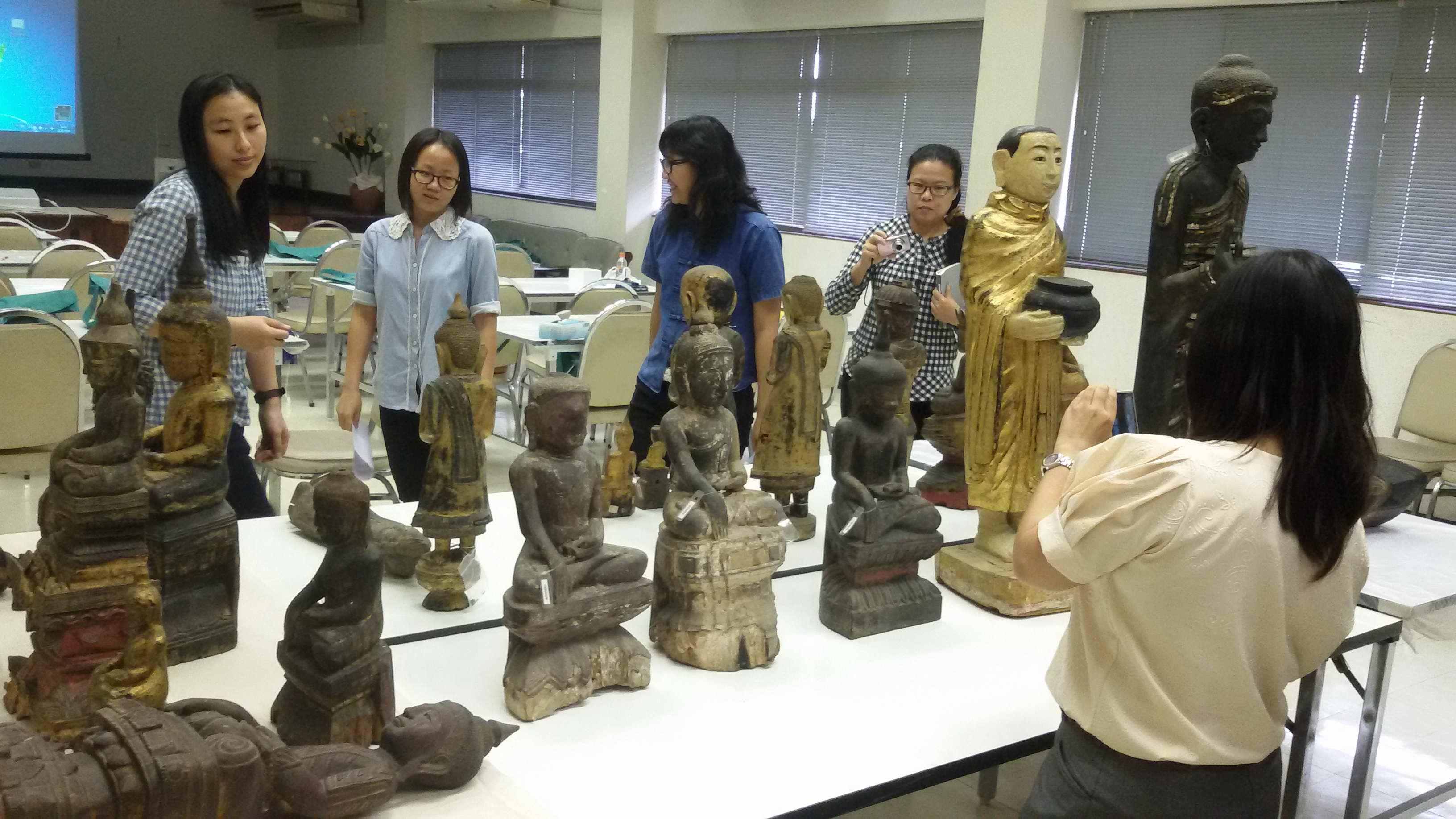 โครงการความรู้ในการตรวจสอบพิสูจน์พระพุทธรูปศิลปะพม่า