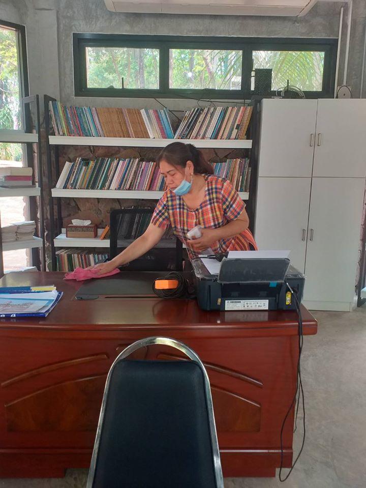 อุทยานประวัติศาสตร์ภูพระบาท จัดกิจกรรมเนื่องในวันอนุรักษ์มรดกไทย โดยมีนายมนตรี ธนภัทรพรชัย หัวหน้าอุทยานประวัติศาสตร์ภูพระบาท เป็นประธานในพิธี