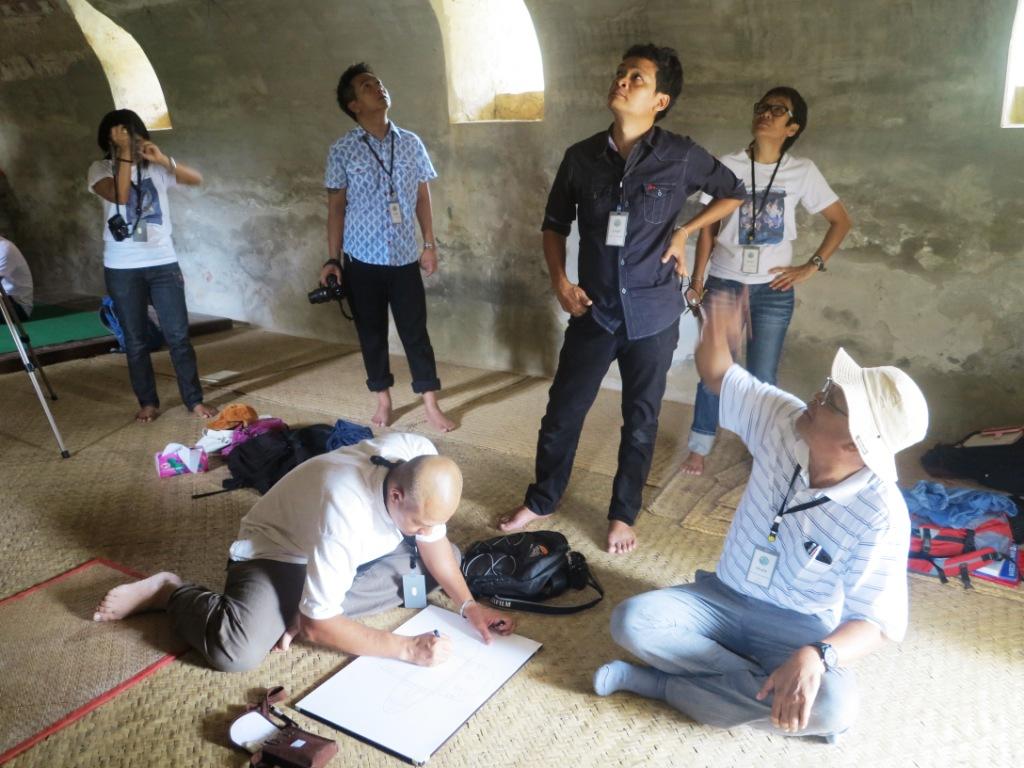 """โครงการศึกษา เรื่อง ชาวอยุธยาในเมียนมาร์ ศึกษาในเขตปกครองมัณฑเลย์และสะกาย """"การอนุรักษ์จิตรกรรมฝาผนังวิหารและประติมากรรมวัดมหาเตงดอจี"""""""