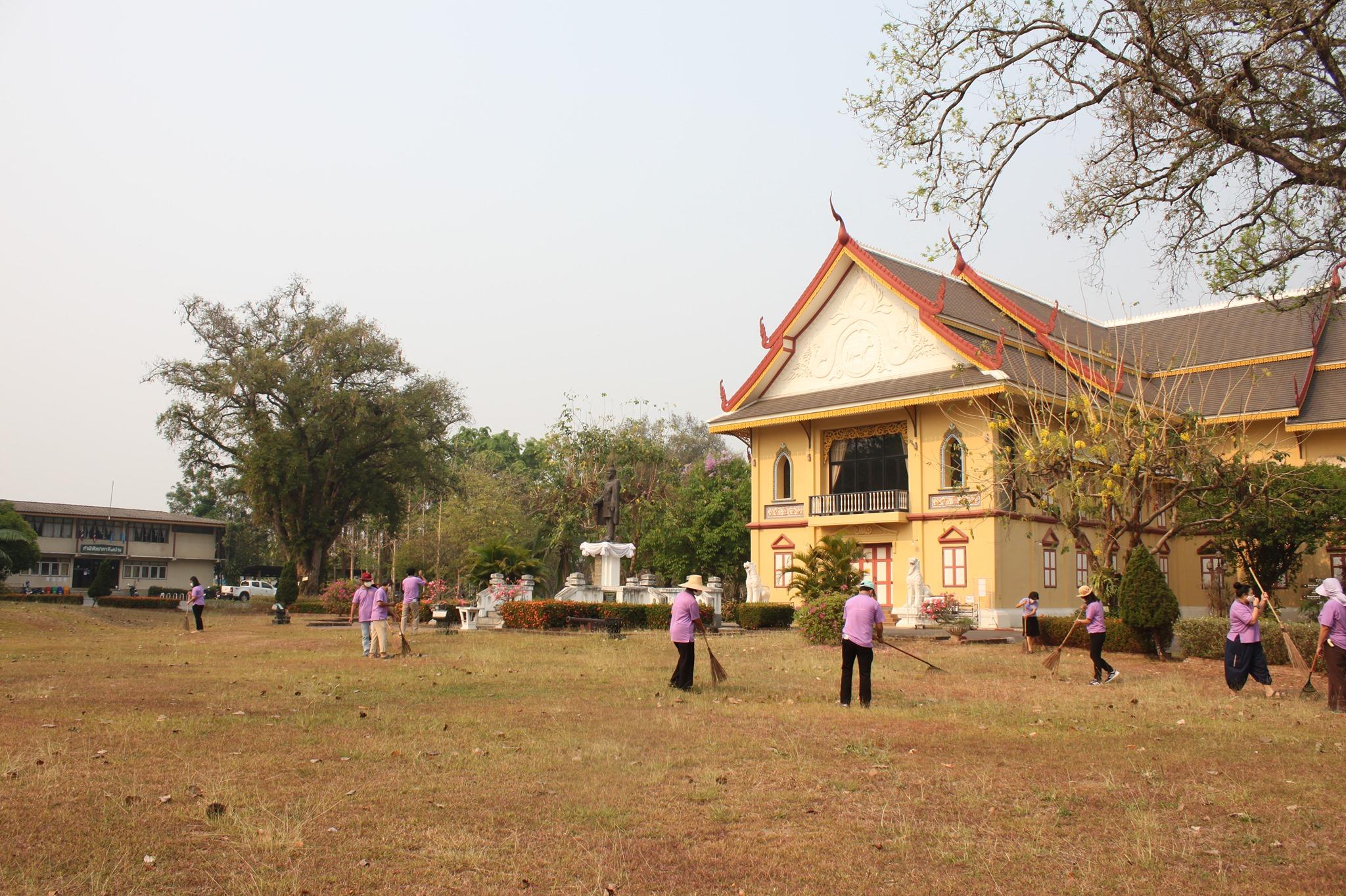 สำนักศิลปากรที่ 7 เชียงใหม่ สาขาน่าน   จัดกิจกรรมรณรงค์การดูแลรักษามรดกทางศิลปวัฒนธรรมของชาติ เนื่องในวันอนุรักษ์มรดกไทย พุทธศักราช 2563