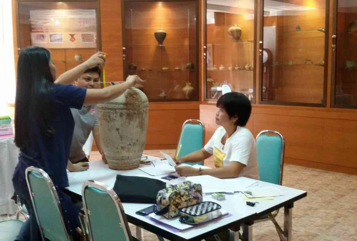 การจัดทำทะเบียนโบราณวัตตถุ ศิลปวัตถุ พิพิธภัณฑ์โรงเรียนบุญวัฒนา