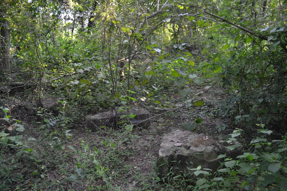 งานสำรวจตรวจสภาพโบราณสถานบารายเมืองพิมายด้านทิศใต้