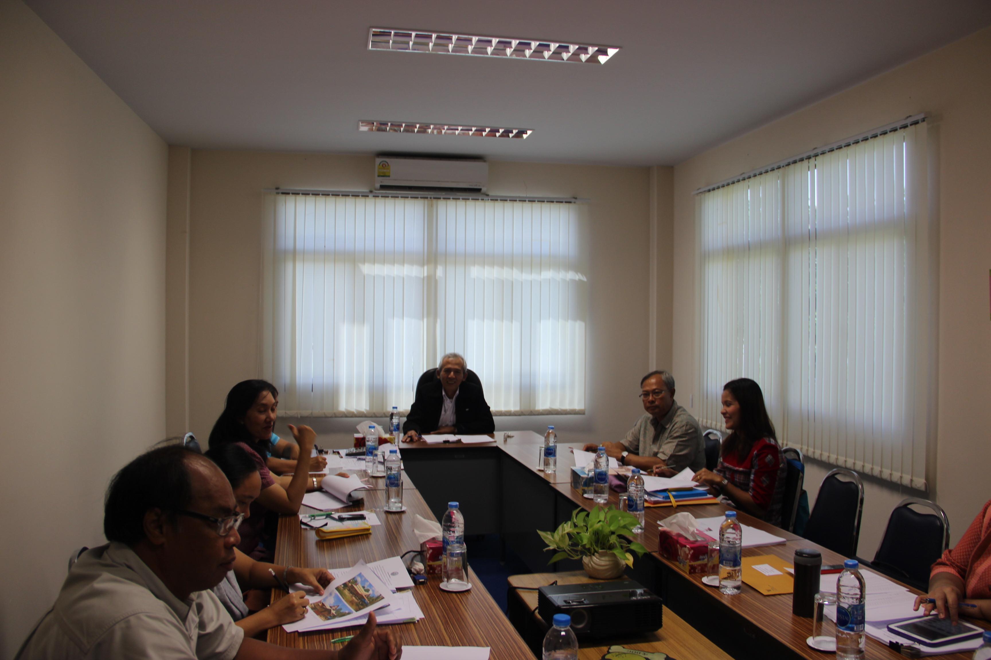 สำนักศิลปากรที่ 13 สงขลา จัดประชุมประจำเดือน ครั้งที่ 8/2557