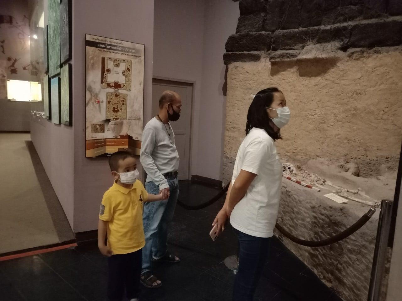 โครงการกิจกรรมเชิงปฏิบัติการแหล่งเรียนรู้ศิลปวัฒนธรรม ระหว่างวันที่ ๑๔ - ๑๕ พฤศจิกายน ๒๕๖๓
